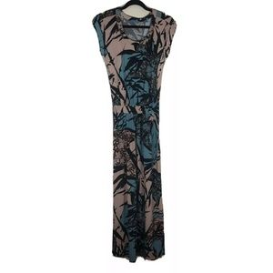 Tori Richard Honolulu Maxi Dress XXS Hawaiian
